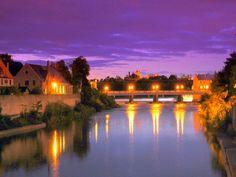 -Grand River in Cambridge Ontario City Of Cambridge, Cambridge Ontario, Visit Cambridge, Beautiful Places To Visit, Great Places, Places To Travel, Places To Go, Travel Destinations, Visit Canada