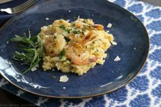 Sunday Seafood Risotto | More Savory, Less Sweet
