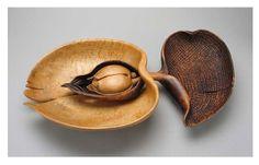 'Pomona's Spoon' (sugar maple burl) by Michelle Holzapfel.