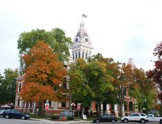 Courthouse in Pontiac Il   http://route66jp.info Route 66 blog ; http://2441.blog54.fc2.com https://www.facebook.com/groups/529713950495809/