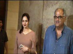 Sridevi at the special screening of Sonam Kapoor's movie KHOOBSURAT.