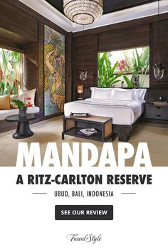 Mandapa, a Ritz-Carlton Reserve in Ubud promises a refined luxury in the heart of Bali and wows with sophisticated interior design and a beautiful location in a river enclosure among the lush tropical jungle. #ubudbalihotelluxury #ubudluxuryresort #ubudluxuryhotel #luxuryhotelsubud #ubudluxuryvillas #ubudbalihotelvillas #ubudbalihotel #ubudbalihotelboutiques #ubudbalihotelresorts #besthotelsinubudbali #besthotelsubudbali #poolvillaresort #bestluxuryhotelsbali #balihotelresortsvillas Luxury Hotels Bali, Ubud Bali Hotels, Beach Hotels, Hotels And Resorts, Best Of Bali, Bachelor Pads, Best Boutique Hotels, Resort Villa, Hotel Reviews