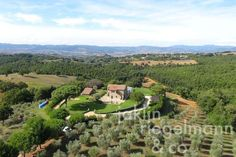 The Extraordinary Country Estate For Sale With 360°-Panoramic Views Close To The Sea In Southern Tuscany
