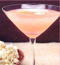 PINK MARTINI Ingredients: 2 oz good-quality gin (I would probably use vodka) ½ oz guava nectar ½ oz fresh orange juice orange twist (for garnish) Party Drinks, Fun Drinks, Yummy Drinks, Yummy Food, Alcoholic Drinks, Pink Cocktails, Cocktail Drinks, Cocktail Glass, Summer Cocktails