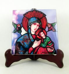 Catholic gift  Our Lady of Perpetual Help by TerryTiles2014