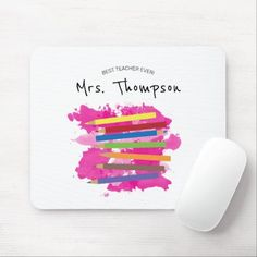 Colorful Pencils Kindergarten Teacher Gift Mouse Pad outfite for school, back to school quites, old school tattooes #backtoschoolsale #backtoschoolmode #backtoschooltheme, dried orange slices, yule decorations, scandinavian christmas Back To School For Teens, Back To School Sales, First Day Of School, Kindergarten Teacher Gifts, Kindergarten First Day, Best Teacher Ever, Back To School Essentials, Yule Decorations, Custom Mouse Pads