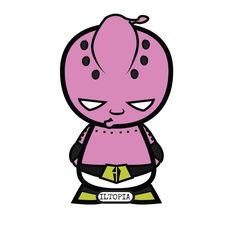 Roscoe as Kid Buu #iltopia #halloween #cosplay #blackheroesmatter #blacklivesmatter #dragonballz #kidbuu #majin #buu #majinbuu