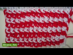 PUNTO (puntada) de DOS COLORES. Tutorial de tejido con dos agujas # 213 - YouTube