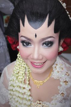 Traditional Indonesian Wedding #bride #javanesse