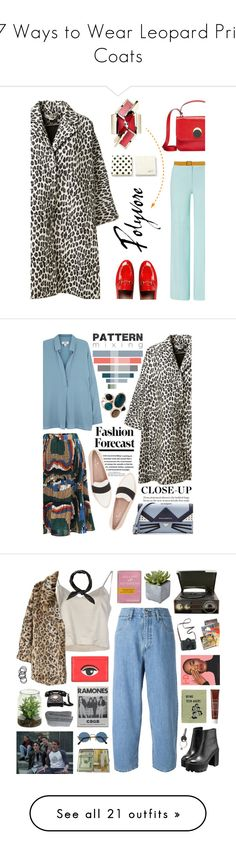 """17 Ways to Wear Leopard Print Coats"" by polyvore-editorial ❤ liked on Polyvore featuring waystowear, leopardprintcoats, ESCADA, Gucci, Marni, STELLA McCARTNEY, Kate Spade, Orciani, Vince and Karl Lagerfeld"