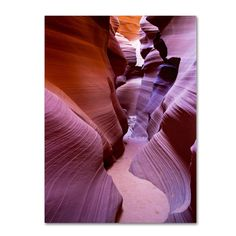 Pierre Leclerc 'Antelope Canyon 2' Art (19 x 14 'Antelope Canyon 2' art)