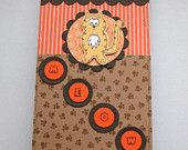 Little Ginger Tabby Cat - Decorated Notepad