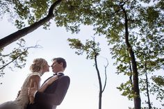 beautiful, young wedding couple on the background of beautiful nature.