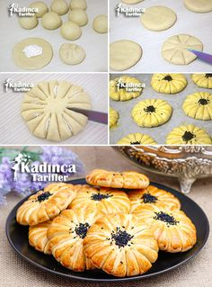 Croatian Recipes Turkish Recipes Bread Shaping Turkish Sweets Food Garnishes Fresh Fruits And Vegetables Cookie Designs Brioche Artisan Bread Bakery Recipes, Bread Recipes, Cooking Recipes, Turkish Sweets, Bread Art, Bread Shaping, Food Carving, Food Garnishes, Arabic Food