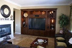 Built in entertainment centers and custom wall units | Cabinet ...