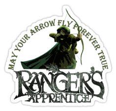 Ranger's Apprentice Sticker