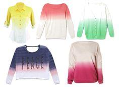Moim zdaniem te bluzki nadają się świetnie na wiosne i lato.