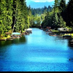 Lake Tapps, canal friend lives on.