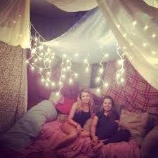 Image result for slumber party fort