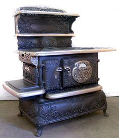 История вещей, костюма, искусства, мебели, интерьера и быта от художника кино. - Ответ на загадку.Cook stoves- кухонные плиты.