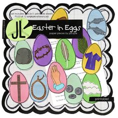 Make Your Own Resurrection Eggs for Easter or Lent Devotional Activity Lent Devotional, Resurrection Eggs, Plastic Easter Eggs, Palm Sunday, Church Activities, Easter Tree, List, Crafts For Kids, Printables