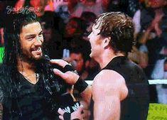 The Shield: Roman Reigns (L) and Dean Ambrose (R)