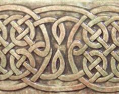 Decorative Relief Tiles Fair Decorative Relief Carved Ceramic Celtic Knotearthsongtiles Design Inspiration