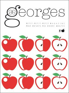 Georges. A well designed French magazine for kids.