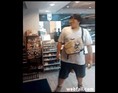 Automatic doors make me feel like a Jedi - Win Gif   Webfail - Fail Pictures and Fail Videos