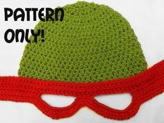 fd941f95a5a You have to see Teenage Mutant Ninja Turtles Crochet Hat on Craftsy! -  Looking for crocheting project inspiration  Check out Teenage Mutant Ninja  Turtles ...