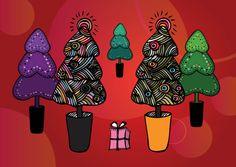 Free Christmas Tree Illustrations