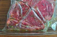 Dad Cooks Dinner: Grilled T-Bone Steaks with Olive Oil, Lemon, Garlic, and Rosemary Marinade