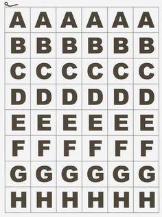 Alfabeto Móvel para imprimir - SÓ ESCOLA
