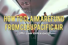 Here's how to claim a refund from Cebu Pacific Air after a scheduled flight change advisory. Company Id, Cebu Pacific, Flight Schedule, School Id, Cebu City, Air Tickets, Recent Events, Air Travel, How To Get