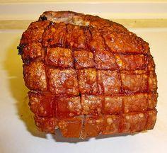 Krustenbraten vom Schwein mit extra krosser Kruste 2