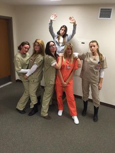 DIY Orange is the New Black group halloween costume