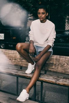 This New Reebok x Maison Kitsuné Collaboration Does Gender-Neutral The Right Way #refinery29 http://www.refinery29.com/new-reebok-maison-kitsune-gender-neutral-fashion-collection