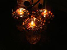 Love crafts with mason jars :) Mason Jar Crafts, Mason Jars, Dyi Crafts, Love Craft, Repurpose, Craft Ideas, Crafty, Fall, Awesome