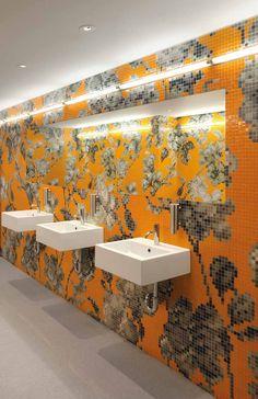 #Bisazza #Decori 2x2 cm Hanami Arancio B | Feinsteinzeug | im Angebot auf #bad39.de 1648 Euro/Pckg. | #Mosaik #Bad #Küche