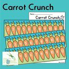 FREE Carrot Crunch - Print and Play Number Game Perfect for Easter - or any time of year!    Print the game boards and optional worksheet in this file to play a game of 'carrot crunch' with your st...