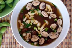 Barley with Mushrooms and Green Onions