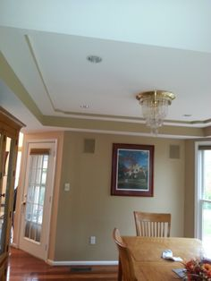 #Painting for very nice homeowners earlier this year.