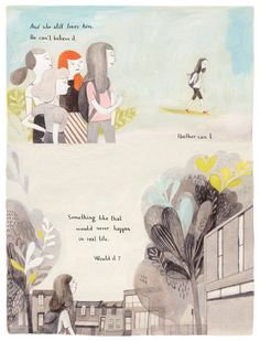 "Isabelle Arsenault «Джейн, лиса и я» | ""Картинки и разговоры"""