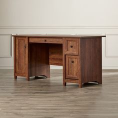 Found it at Wayfair - Lamantia 2 Drawer Computer Desk with Keyboard Tray