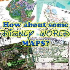 Disney World Maps - List of the best maps for your Disney Trip - most free & printable