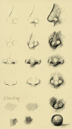 How to draw a nose :-)