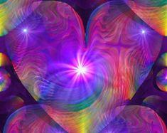 Psychedelic Energy Art Reiki Healing Spiritual von primalpainter