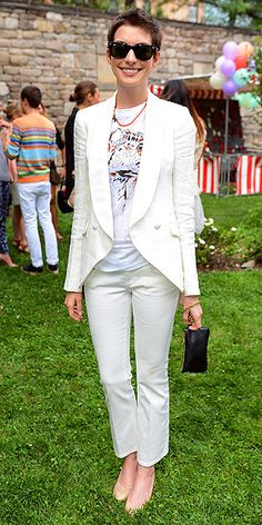 StyleBlazer Survey: Anne Hathaway's New Tom Boy Look (Love It Or Leave It?) | StyleBlazer