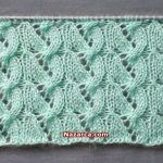 2019 Modell Knot Knecessarily Known Knitting: Symmetrisches Garn über Netzmuste& Knitting Stiches, Lace Knitting, Knitting Socks, Knit Crochet, Knitting Patterns, Crochet Patterns, Kurti Embroidery Design, Cross Stitch Kitchen, Crochet Videos