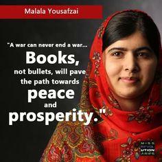 Malala Malala Yousafzai, You Go Girl, Wisdom, Peace, World